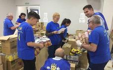 INPAVI ayuda a más de 300 familias malagueñas a través de un reparto de alimentos, ropa y enseres de bebé