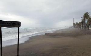Málaga, en aviso amarillo este domingo por viento y olas