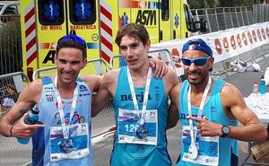 Cristóbal Ortigosa, el atleta de Villanueva del Rosario que ha recorrido media Europa de maratón en maratón