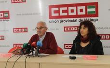 Comisiones denuncia la privatización de servicios en los centros educativos de Málaga
