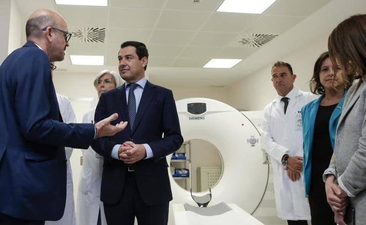 El presidente de la Junta, de visita en Málaga
