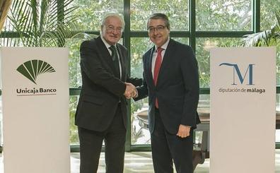 Unicaja Banco y Diputación de Málaga llegan a un nuevo acuerdo para impulsar actividades sociales, culturales y deportivas