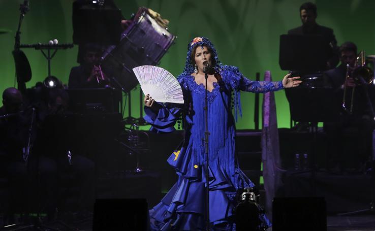 Estrella Morente y su 'Copla' en el Teatro Cervantes