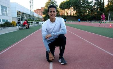 Oumaiz: «Me gustaría tener la rapidez de El Guerrouj y el fondo de Mo Farah»