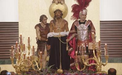 Zamarrilla inicia el grupo escultórico del Santo Suplicio con un romano y un sayón