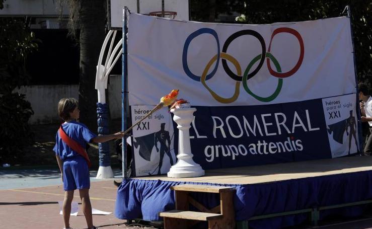 Juegos Olímpicos en el colegio El Romeral
