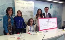 La fundación de María Bravo recauda en Dubai 50.000 euros para las prótesis de Sarah