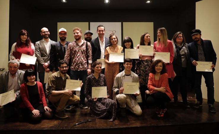 Entrega de los Premios Ateneo-Universidad de Málaga
