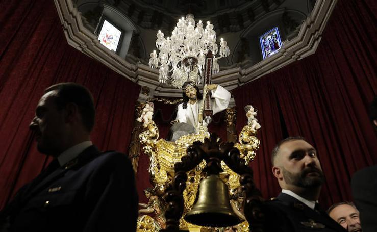 Actos previos al inicio de la Semana Santa de Málaga