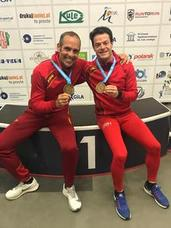 Siete medallas malagueñas en el Mundial máster de Polonia