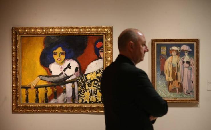 La exposición 'Perversidad. Mujeres fatales en el arte moderno (1880-1950)', en imágenes