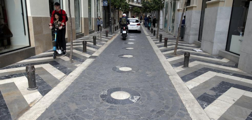 Hasta el suelo es bonito en Málaga...