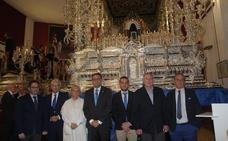 La Cofradía del Prendimiento amplía el trono de la Virgen del Gran Perdón