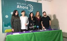 Málaga Ahora presenta su lista para el cambio en Málaga
