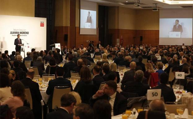Moreno anuncia que las obras del tercer hospital de Málaga comenzarán en 2020