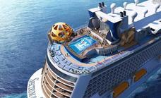 Llega a Málaga el nuevo crucero de Royal Caribbean, el 'Spectrum of the Seas'