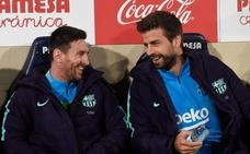 Messi descansa una hora y Piqué no juega ni un minuto