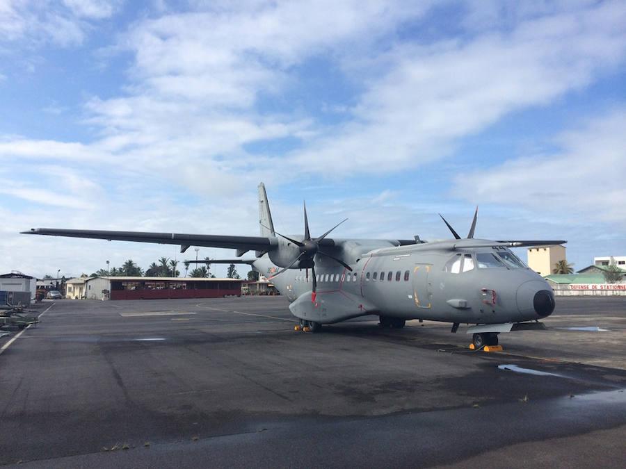 Heridos nueve militares durante el aterrizaje de un avión en Huesca