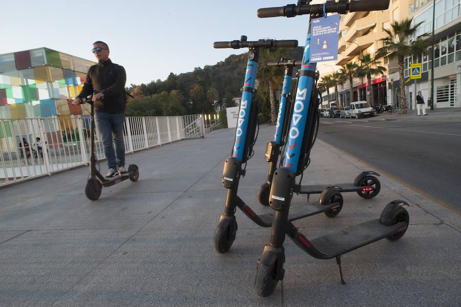 Movo se convierte en la octava empresa de patinetes de alquiler en Málaga