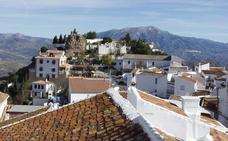 Los municipios más altos de Málaga