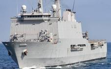 El buque Galicia de la Armada llega mañana al Puerto de Málaga