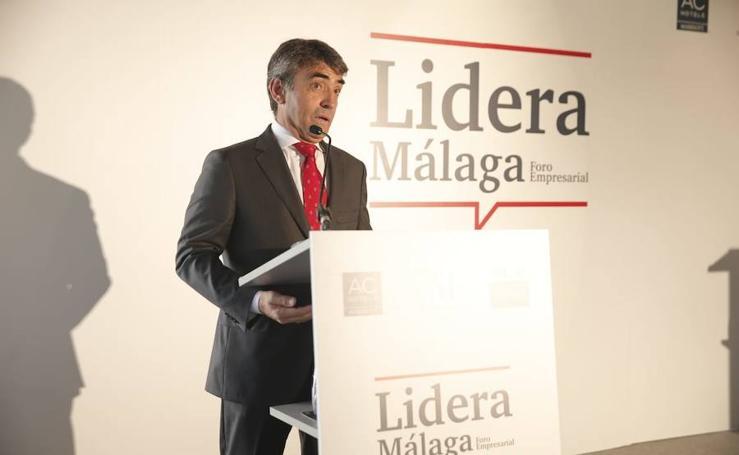 El foro Lidera Málaga, con Victorino Martín, en imágenes