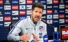 Simeone: «No haber ganado en el Camp Nou me hace ser superoptimista»