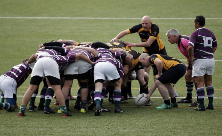 El rugby malagueño recuerda a Manolo Becerra