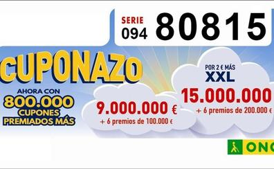 El Cuponazo de la ONCE deja 250.000 euros en Gaucín