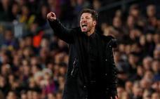 Simeone: «Los jugadores del Barcelona dicen y hacen cosas peores y no pasa nada»
