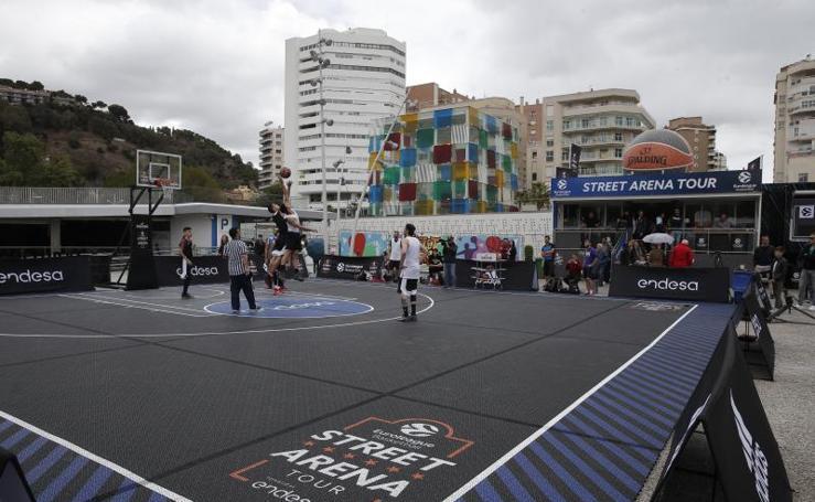 Muelle Uno acoge el torneo 3x3 Street Tour Arena