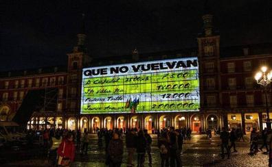 Podemos reinvindica la proyección de los papeles de Bárcenas en Madrid