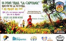 Rincón celebra la III Mini Trail 'La Capitana'con una carrera especial por el Día de la Madre