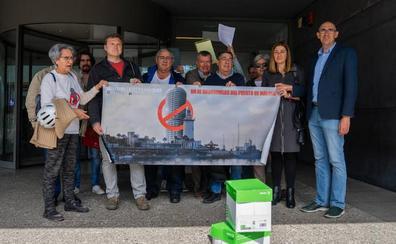 Urbanismo registra más de un millar de alegaciones contra la torre del Puerto de Málaga