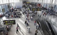 El aeropuerto de Málaga gana un 7% de pasajeros en el primer trimestre del año