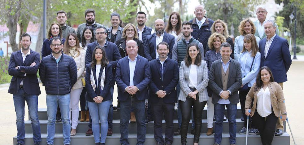 El alcalde Manuel Barón sobre su lista: «Es la candidatura que se merece Antequera»