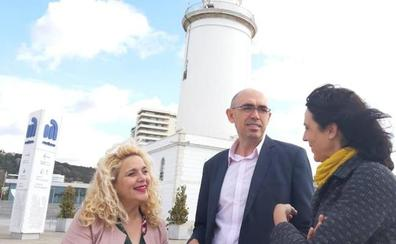 Unidas Podemos y Adelante Málaga incluyen en su programa el rechazo al hotel del puerto