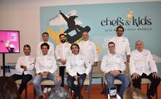 La alta cocina se cita en Marbella en favor de los menores con cáncer y la dieta saludable