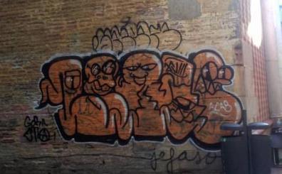 Detienen a un grafitero en Málaga por enaltecimiento de ETA