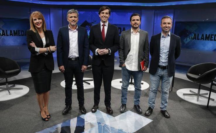 El debate de Diario Sur en 101Tv con los candidatos de Málaga para el Congreso, en fotos