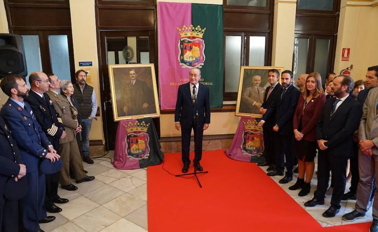 Así ha sido el acto de conmemoración del centenario del Ayuntamiento de Málaga