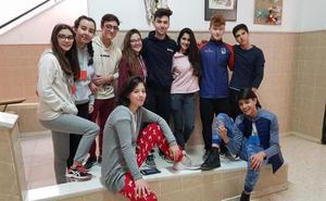 Fiesta de pijamas en el instituto