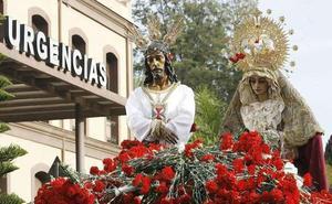 Cerca de una veintena de traslados y 11 procesiones preludian la Semana Santa
