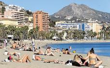 Calor y buen tiempo en el arranque de la Semana Santa en Málaga