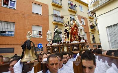 Salutación deberá sacar el trono de su Cristo a la calle para una misa de Servitas