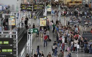 Más de 800.000 pasajeros se moverán en el aeropuerto de Málaga durante este Semana Santa