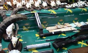 Desmantelado un taller ilegal de armas que se vendían por encargo por toda España