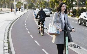 Málaga es la segunda ciudad de España con más patinetes de alquiler en las calles