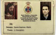 Cuando Alberto Garzón era cofrade