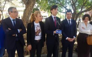 Juanma Moreno: «El PP es el partido que trabaja por las clases medias»
